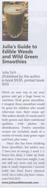 Review of my book that appeared in the Organic NZ magazine.