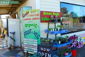 NgAnga's organic produce stall